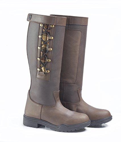 Just Togs maybrook país botas de la mujer, color marrón, tamaño talla 6 marrón