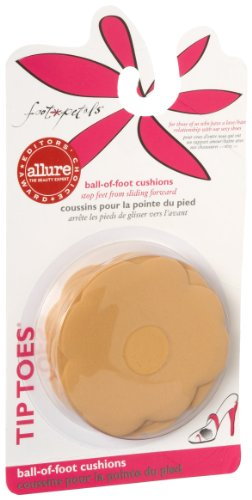 - Foot Petals Tip Toes Triple Pack,Buttercup,one size