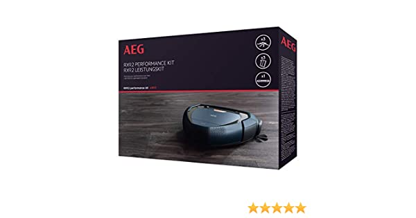 AEG ARK3 Pack Laterales PowerBrush, 3 filtros XXL Lavables, 1 ...