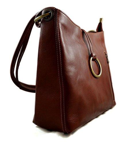 ... Sacoche femme sac à main en cuir sacoche de cuir besace besace cuir  bandoulière traverser sac ... 5fabcd6d6763