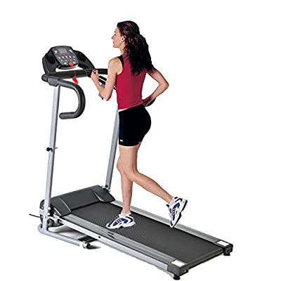 Z ZTDM 4 Feet Foldable Treadmills for Home Office Running Walking with Incline, Electric 500W Power Saving Under 220lbs (Two Styles)