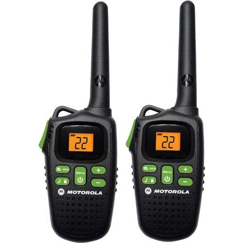 Motorola MD200R FRS Two-Way - 20 Mile Radio Pack - Black
