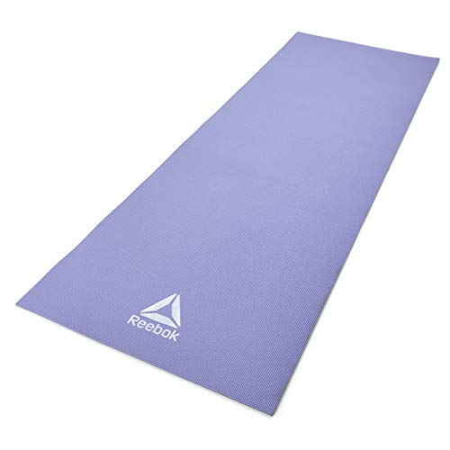 Reebok Double Sided Yoga Mat, Purple/Grey, 6mm