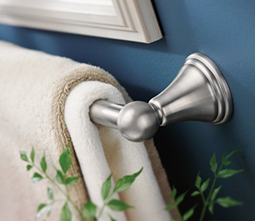 Moen DN8424BN Preston Bathroom Towel Bar