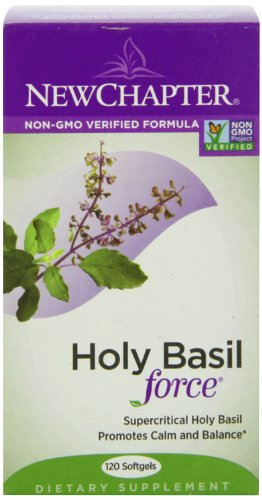 New Chapter Supercritical Holy Basil, 120 Softgels, Health Care Stuffs