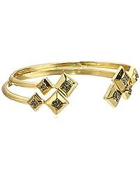House of Harlow 1960 The Lyra Set Gold Cuff Bracelet