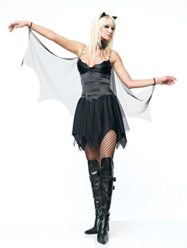 [Bat Vampire Fairy Adult Costume (Large)] (Dark Fairy Wings Costume)