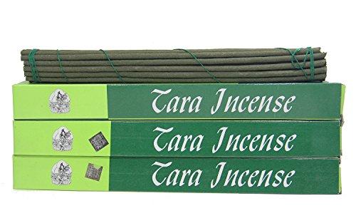 - DharmaObjects 3 Box Tibetan Green Tara Incense Sticks (Large 84 Sticks)