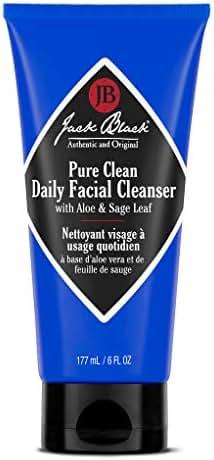 Jack Black Pure Clean Daily Facial Cleanser, 6 fl. oz.