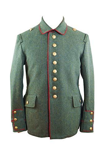 (militaryharbor WWI German M1907/M1910 Field Grey Wool Tunic I-M)