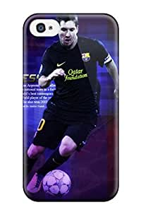 Iphone Cover Case - Lionel Messi Desktop Background Protective Case Compatibel With Iphone 4/4s