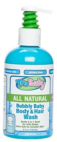 TruBaby Bubbly Baby Body et de se laver les cheveux, de 8 onces
