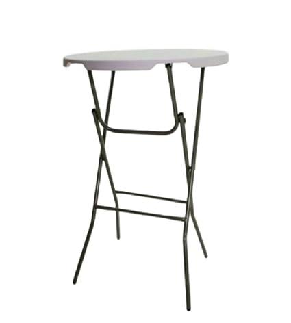 Astounding Amazon Com Outdoor Foldable Pub Table Stand Cocktail Height Download Free Architecture Designs Estepponolmadebymaigaardcom