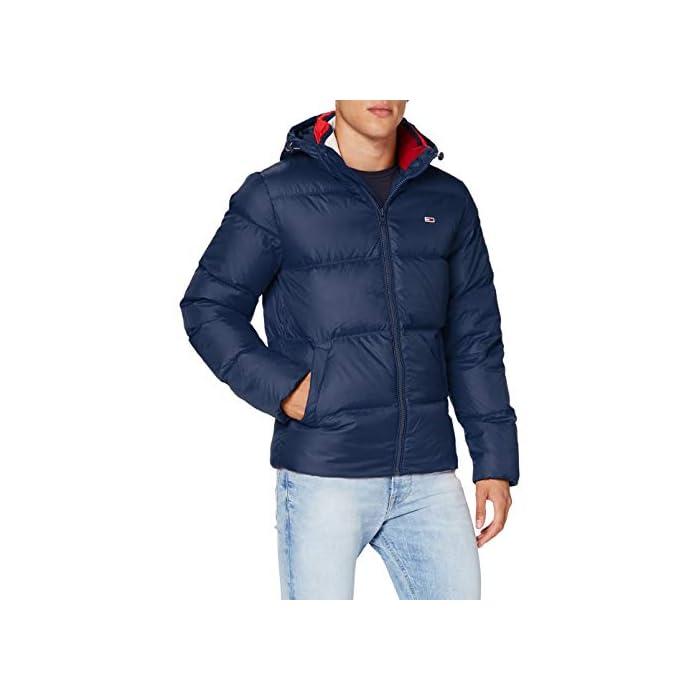 41DwftljGGL Tommy Jeans ropa exterior para hombre Este producto se ha producido de forma sostenible 98% Algodón, 2% Elastano