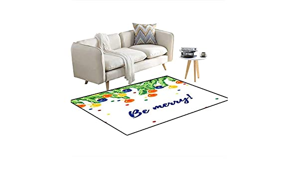 Amazon.com: Anti Skid Rugs Watercolor Artistic Handrawn ...