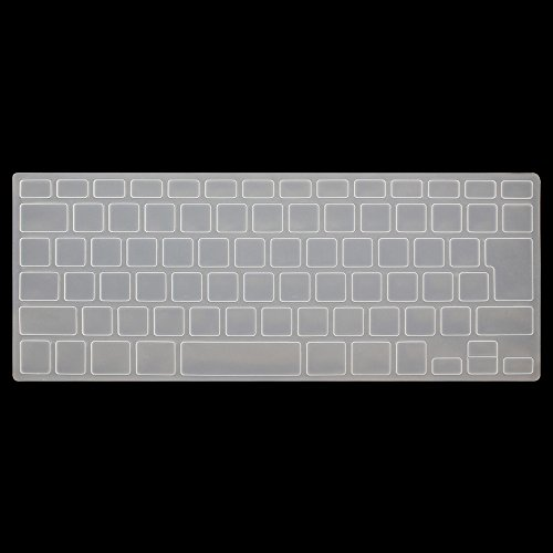"""Price comparison product image HRH Transparent Keyboard Cover Silicone Skin for MacBook Air 13 and MacBook Pro 13"""" 15"""" 17"""" (with or w/out Retina,Not Fit 2016 Macbook Pro 13 15 with/without Touch Bar) Japan Layout"""
