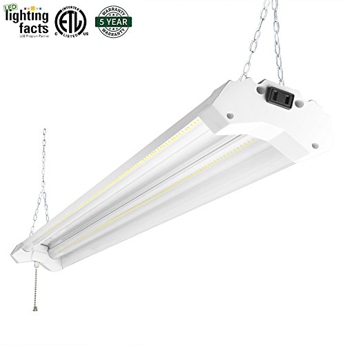 Hyperselect Utility Led Shop Light 4ft Integrated Led: Compare Price To Led Lights Garage