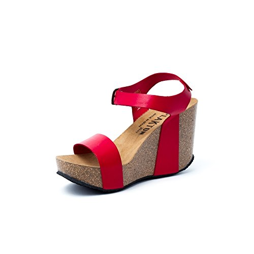 Plakton Donna Sabot sandali Plakton sandali Rosso Sabot Sabot Rosso Plakton sandali Donna gUrwxg4