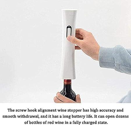 Sacacorchos de vino recargable por USB, sacacorchos eléctrico, sacacorchos automático portátil, apto para reuniones familiares