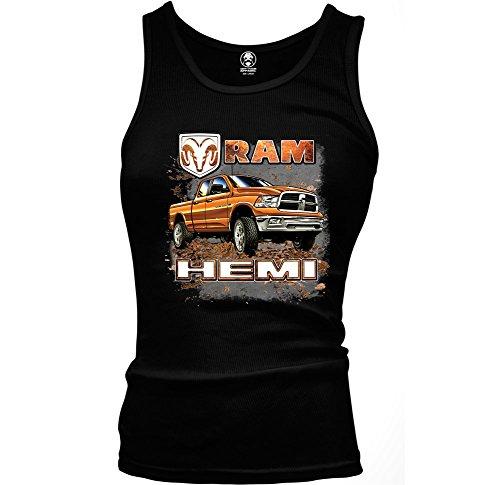 Dodge Ram Hemi 2500 Pickup Truck Officially Licensed Ladies Beater Tank Top (Medium ()