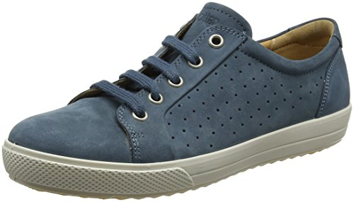 Scarpe Hotter River Blu 105 Brooke Blue Donna Derby Stringate rr750cqwg