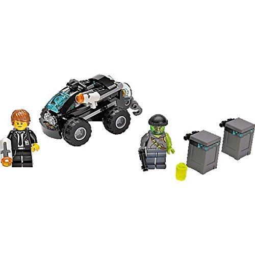 LEGO, Ultra Agents, Riverside Raid (70160) (Quad Bike Lego)