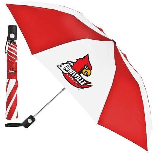 Louisville Cardinals Umbrella - Auto Folding