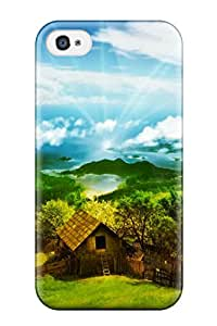Pamela Sarich's Shop Hot New Arrival Case Cover With Design For Iphone 4/4s- Scenery 6346138K78551895