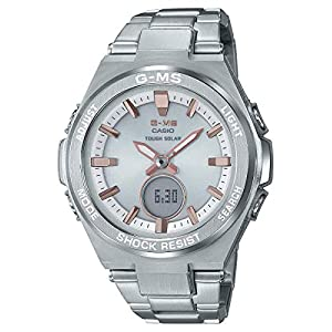 41DwiP4ePTL. SS300  - Ladies' Casio Baby-G G-MS Stainless Steel Watch MSGS200D-7A