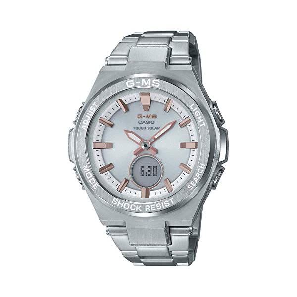 41DwiP4ePTL. SS600  - Ladies' Casio Baby-G G-MS Stainless Steel Watch MSGS200D-7A