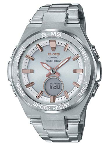 (Ladies' Casio Baby-G G-MS Stainless Steel Watch MSGS200D-7A)