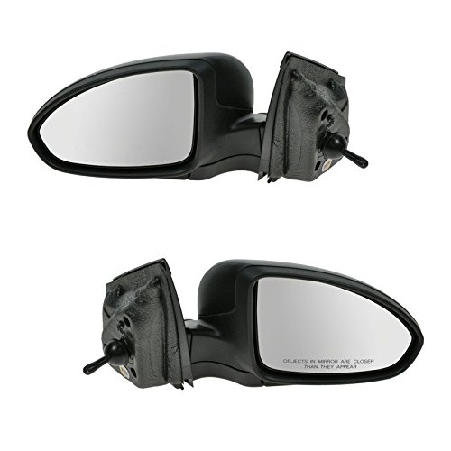 Side View Mirrors Manual Remote Left & Right Pair Set for 11-14 Chevy Cruze