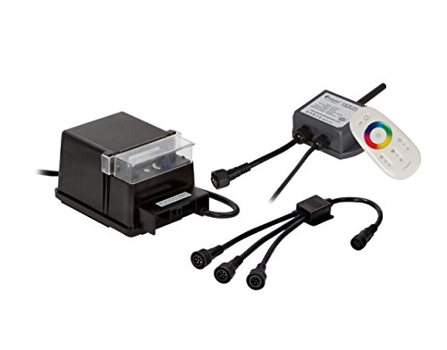Atlantic Water Gardens 7-Way Wiring Kit for Color Changing LED Lights with Control Module & Remote by Atlantic Water Gardens