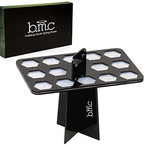 Brush Lightweight Monster (BMC 14 Large Makeup Brush Holder Organizer Folding Collapsible Air Drying Tower)