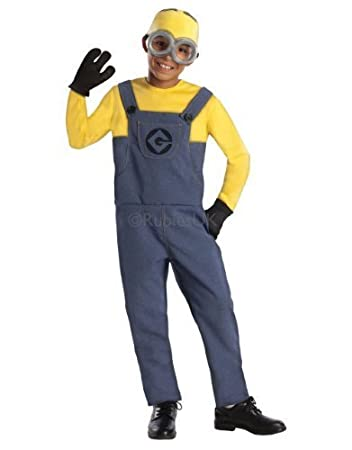 Despicable Me Costume Kids Classic Minion Dave Outfit Small Age 3 - 4  sc 1 st  Amazon UK & Despicable Me Costume Kids Classic Minion Dave Outfit Small Age 3 ...