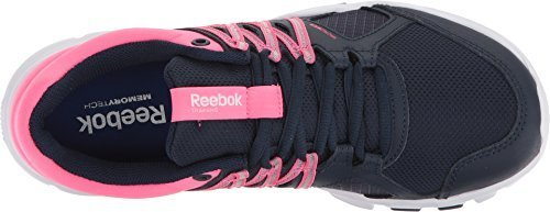 Reebok Women's Yourflex Trainette 8.0L MT Training Shoe, Night Beacon/Blue Splash/Icono Pink/White, 6.5 M US