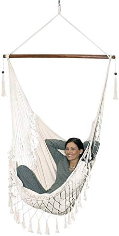 THE SILENCER All Things Hanging Hammock Swing Chair