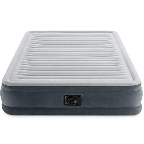 Intex Comfort Plush Mid Rise Airbed with Built-in Electric Pump
