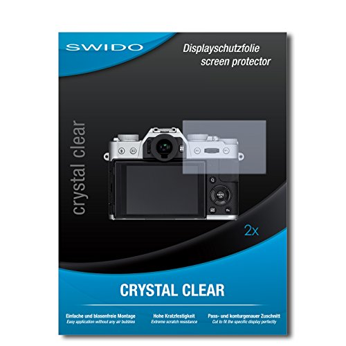 2 x SWIDO® Displayschutzfolie Fujifilm X-T10 Schutzfolie Folie