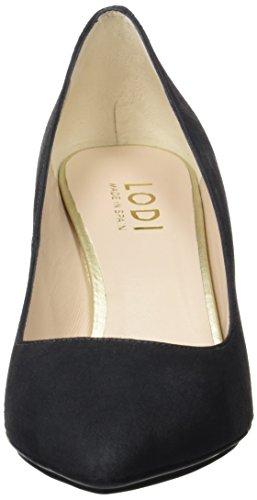 lodi Edurne-Go, Zapatos de Tacón con Punta Cerrada Para Mujer, Gris (Ante Pizarra), 40 EU