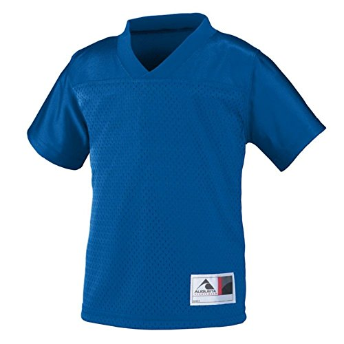 - Augusta Activewear Toddler Stadium Replica Jersey, Royal, 2/3T