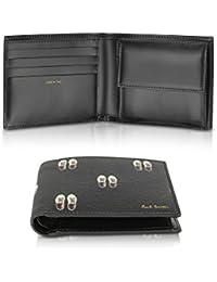 Men's AUXC4833W944 Black Leather Wallet