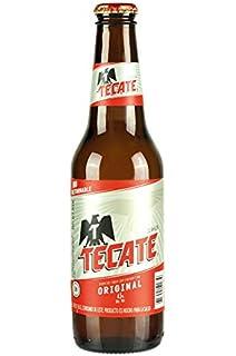 24 Flaschen Cerveza Tecate 45 Vol Bier Aus Mexiko Amazonde