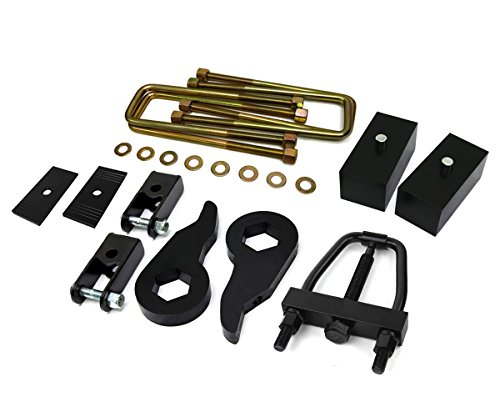 Big Body Chevys - 1999 - 2007 (Classic) Silverado Lift Kit 1500 4WD Adjustable 1 to 3 Inch Front 2 Inch Rear BIG BRAWNS Torsion Keys Lift Blocks Extended U-Bolts Torsion Bar Tool Axle Shims and Shock Extenders
