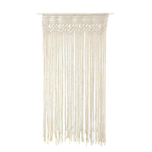 eronde Macrame Wall Tapestry, Art Cotton Rope Cord Woven Wall Hanging Boho Wedding The Living Room Kitchen Bedroom Apartment by eronde