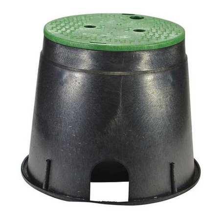 7 round valve box - 8