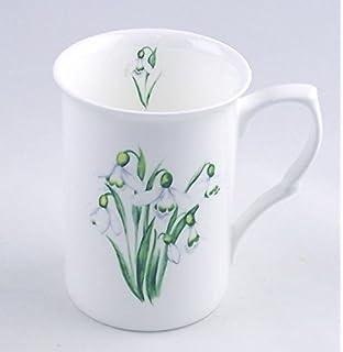 Amazon com | Fine Bone China Teacup and Saucer - Grace's