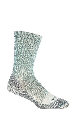 Ladies Boulder (Farm to Feet Women's Boulder Lightweight Hiking Socks, Atlantic Deep, Small)