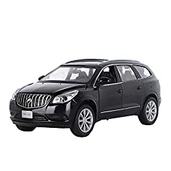 GYZS-TOY 1:32 Buick Angkor Alloy Car Model Pull Back Sound and Light Toy Car Off-Road Vehicle Door Simulation Car from Gyzs-toy