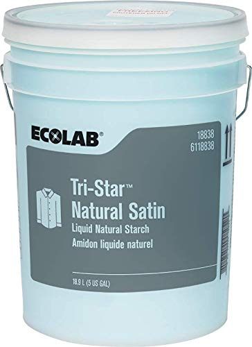 ECOLAB TRI-Star Natural Satin Starch 6118838/18838 5 Gal